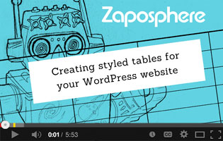 Video Thumbnail - Create tables for your WordPress website
