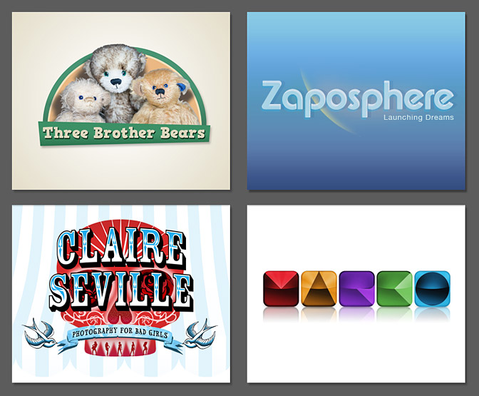 Zaposphere Logo Designs