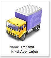 Transmit FTP client