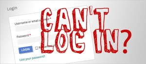 WordPress subscribers users customers can't log in - Problem solved