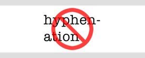 stop remove hyphens from WordPress - prevent broken words, word breaks