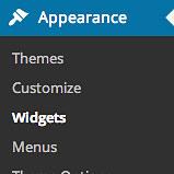 adding a custom widget area