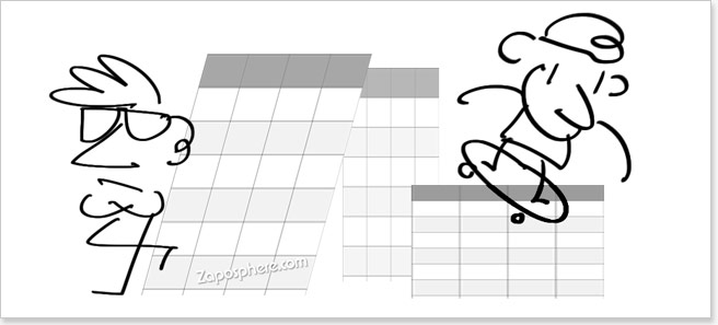 Cool kids responsive table design