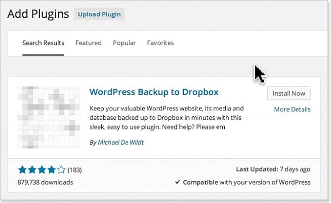 Schedule WordPress backups for free!