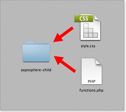 Create a child theme in WordPress